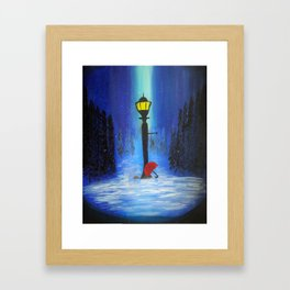 Waiting for Lucy Framed Art Print