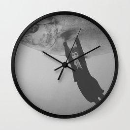 Exit Buddies Wall Clock