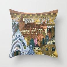 District XIV. Budapest Throw Pillow