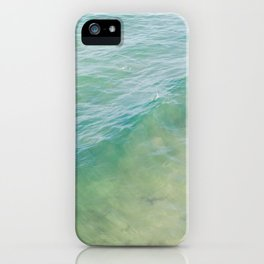 Peaceful Waves iPhone Case
