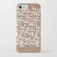 willy wonka iPhone & iPod Cases featuring Willy Wonka Pattern by Ricky Kwong