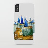 castle iPhone & iPod Cases featuring Castle by Irina  Mushkar'ova