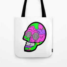 Psych Skull Tote Bag