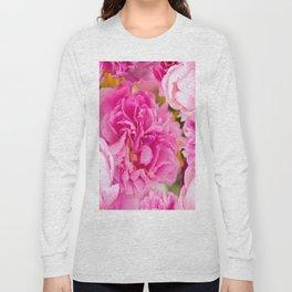 Large Pink Peony Flowers #decor #society6 #buyart Long Sleeve T-shirt