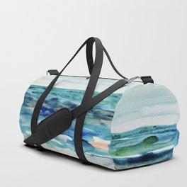 Miami Beach Watercolor #8 Duffle Bag