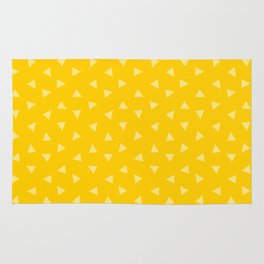 Festive Yellow 2 Rug