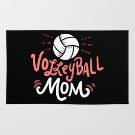 Volleyball Mom. - Gift Rug