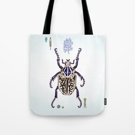 Happy Goliath beetle Tote Bag