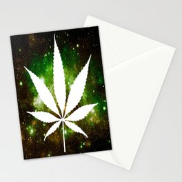 Weed : High Times Galaxy Stationery Cards