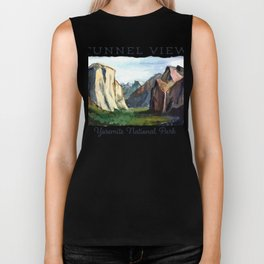 TUNNEL VIEW - Yosemite National Park Biker Tank