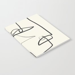 Abstract line art 12 Notebook