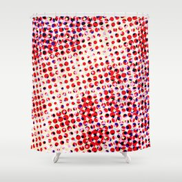 Visual illusion No. 2 Shower Curtain