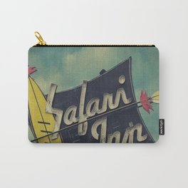 Safari Inn, Burbank, CA.  Carry-All Pouch
