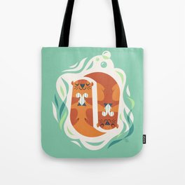 Otterly Adorable Tote Bag