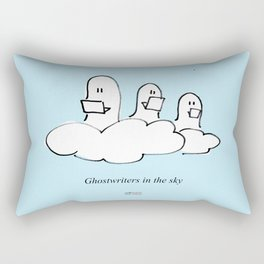 ghost writers in the sky Rectangular Pillow