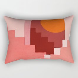 Abstraction_SUN_Architecture_Minimalism_001 Rectangular Pillow