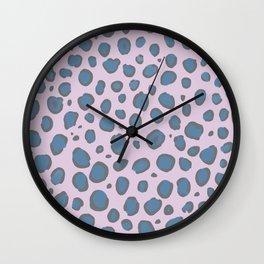 Pretty Leopard Print  Wall Clock