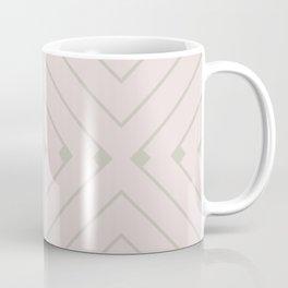 MONO:CHROMA Geometrica Earthy Pink II Coffee Mug