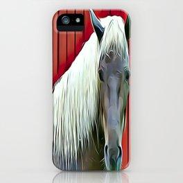 Icelandic Palomino Horse iPhone Case