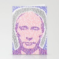 putin Stationery Cards featuring the world is mine by KrisLeov