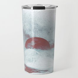 Pink Moon Mountain Travel Mug
