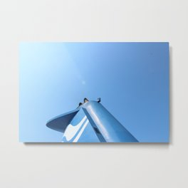 Machinefin Metal Print