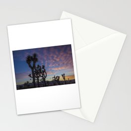 Sunset in Joshua Tree National Park Stationery Cards