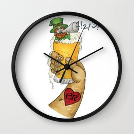 Sociable! The First Wall Clock