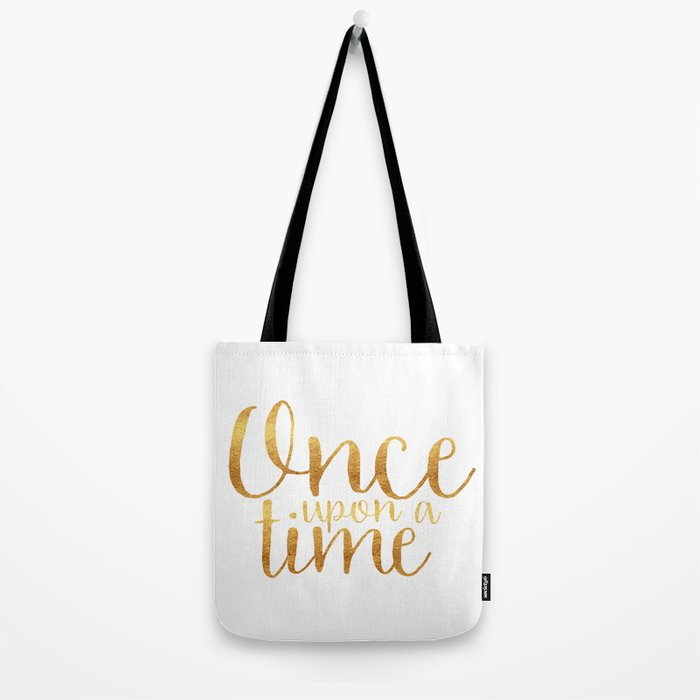 Once Upon a Time - Gold Tote Bag