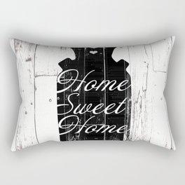 Home Sweet Home Rustic Jug Rectangular Pillow