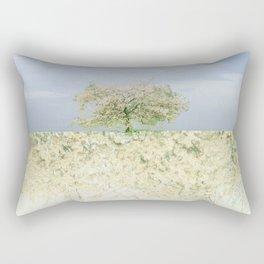 landscape 004c: 藍の空 (indigo sky) Rectangular Pillow