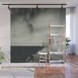 Vertigo Ocean - Inclined Seascape Wall Mural