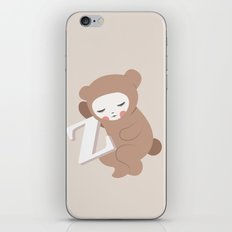Waiting for Z iPhone Skin