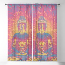 Crystal Buddha Sheer Curtain