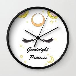 Goodnight Princess Wall Clock
