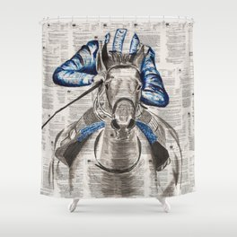 Race Shower Curtain