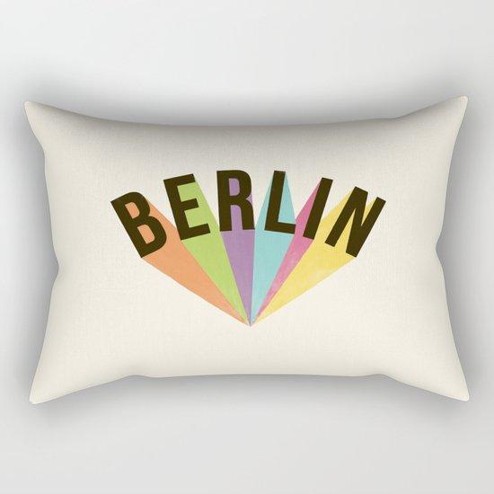 Letters : Berlin Rectangular Pillow