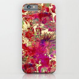 floral meli melo iPhone Case
