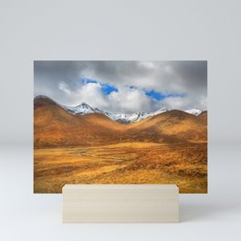 Distant Snow Mini Art Print