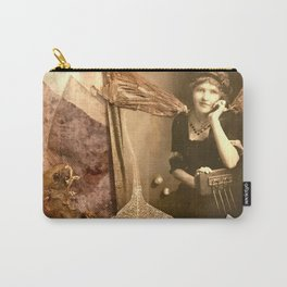 I Dream in  Black & White Carry-All Pouch