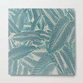 Pale Tropics Metal Print
