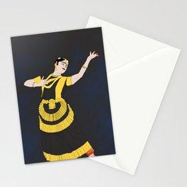 Mohiniyattam Classical Dance Kerala India Stationery Cards