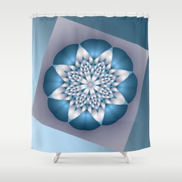 almost symmetrical -c- Shower Curtain