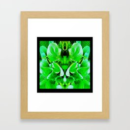 Grumpy Fauna Framed Art Print