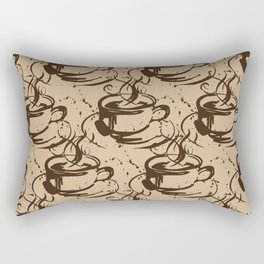 Java Love 1B by Kathy Morton Stanion Rectangular Pillow