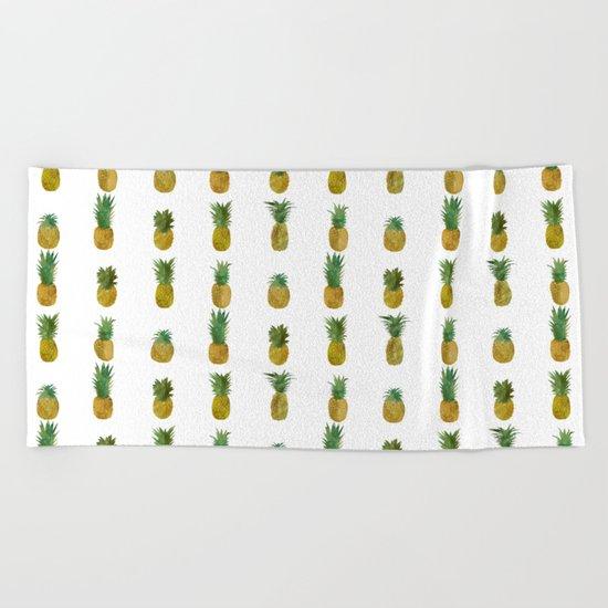 Mini Pineapples Beach Towel