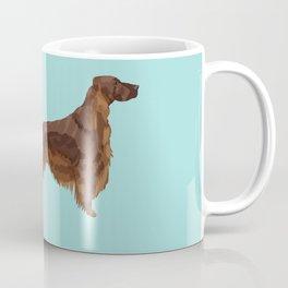 Irish Setter farting dog cute funny dog gifts pure breed dogs Coffee Mug