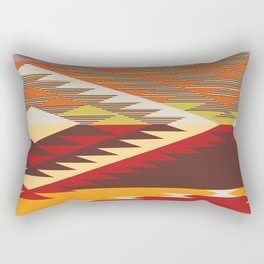 American Native Pattern No. 134 Rectangular Pillow