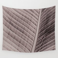Palm Frond Veins Wall Tapestry