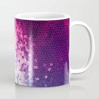 mosaic Mugs featuring MOSAIC by INA FineArt